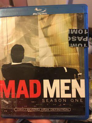 Mad Men season one Blu-ray for Sale in Chandler, AZ