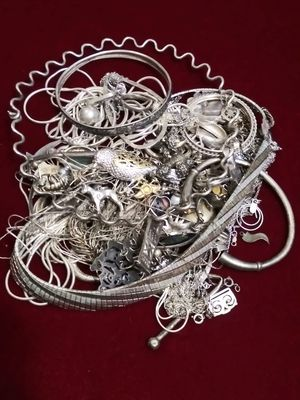 12 1/2 Ounces of Sterling Silver Jewelry Scrap and Repair for Sale in Pasadena, TX