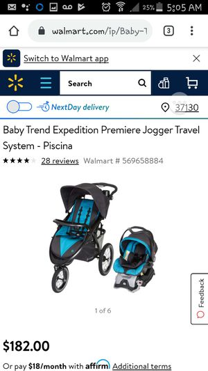 Brand new Baby Trend Jogger car seat and stroller set for Sale in Murfreesboro, TN