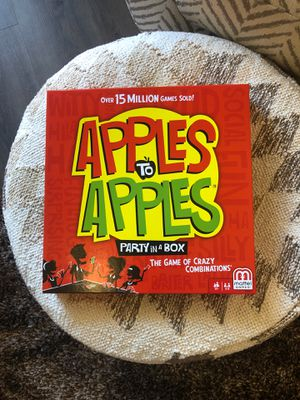 Apples to apples board game for Sale in Los Angeles, CA