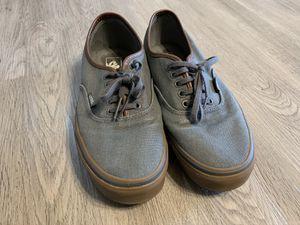 VANS gray shoes men size 9 for Sale in Everett, WA