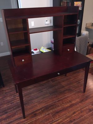 Desk with Hutch for Sale in Irvine, CA