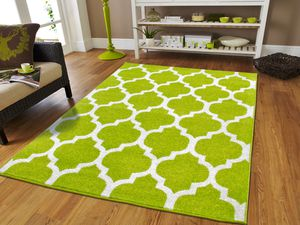 Green Trellis rug 5x8 8x11 new for Sale in Baltimore, MD