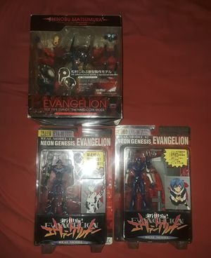 Neon genesis evangelion anime collectable figures for Sale in Bronx, NY