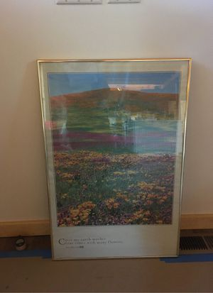 Framed poster for Sale in Leavenworth, WA