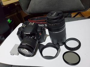 Canon Rebel T5i with two lenses (18-55mm and 75-300mm) for Sale in New York, NY