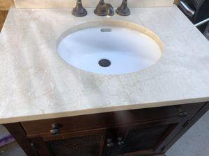 Beautiful bathroom vanity sink for Sale in Anaheim, CA