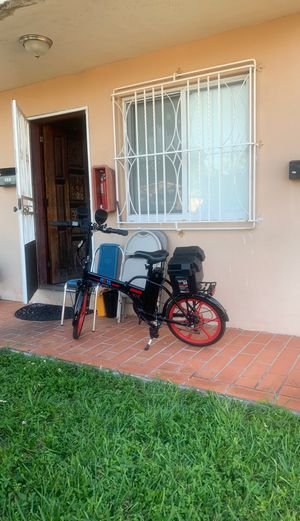 Electric bicycle with speakers for Sale in Miami, FL