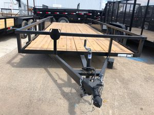 Utility trailer 83x20 5 lugs for Sale in Lancaster, TX