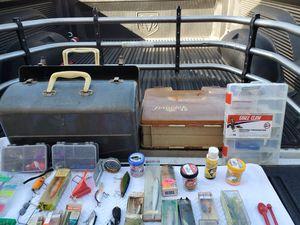 Fishing tackle boxs for Sale in San Bernardino, CA