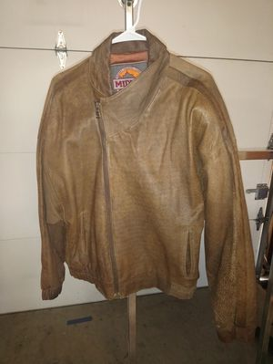 Midway leather jacket for Sale in Sanger, CA