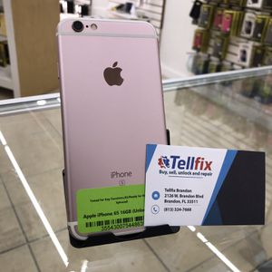 Apple iPhone 6s 16GB Unlocked For Any Carrier for Sale in Brandon, FL