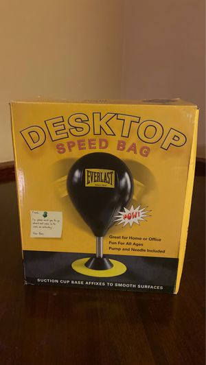 EVERLAST breakdown new DESKTOP speed BAG for Sale in Alameda, CA