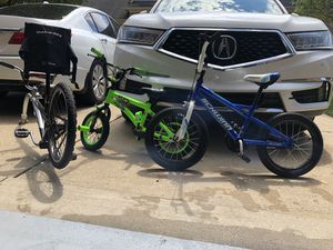 Kids bike 16 in and trek for Sale in Sterling Heights, MI
