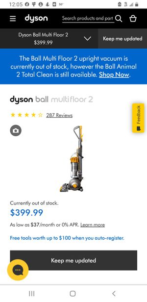DYSON BALL UPRIGHT VACUUM for Sale in Fairfax, VA