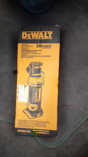 DEWALT Dry Wall Cut-Out Tool for Sale in Tacoma, WA