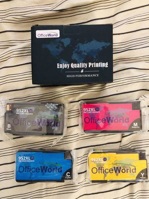 OfficeWorld Full Ink Cartridge Set for HP 952XL for Sale in Cary, NC