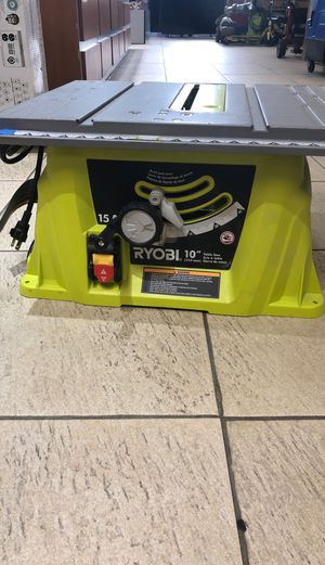 Ryobi 10 inch Table saw for Sale in Hollywood, FL