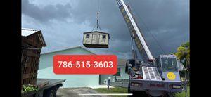 Sheds relocated,,, movemo casita de patio Rv container for Sale in Hialeah, FL