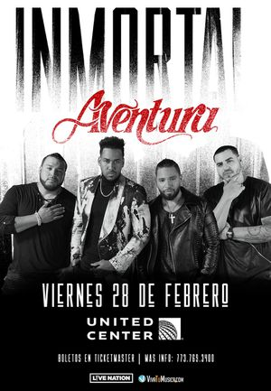 Aventura tickets for Friday 2/28 for Sale in Chicago, IL