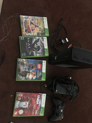 Xbox 360 with games for Sale in Houston, TX
