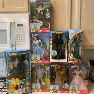 Wizard of Oz Barbie collection. Still in boxes for Sale in Cedar Park, TX