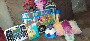 My 1st Bible, Hatchimals, Pillow Pet, Leappad Ect.. for Sale in Denver, CO