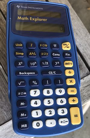 Texas Instruments t2 math explorer for Sale in Ashville, OH