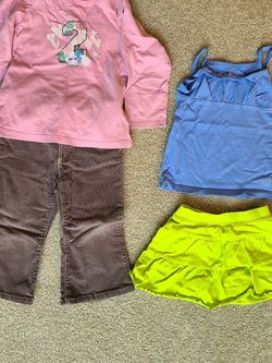 Girls clothes size 24 months tops pants skirt for Sale in Duncan,  SC