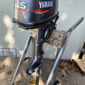 yamaha 5 hp outboard 2 stroke for Sale in Miami, FL