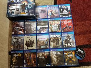 PS4 Games for Sale/ Trade for Sale in Kent, WA