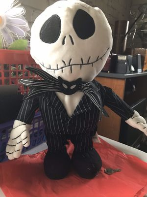 Nightmare Before Christmas Battery Operated Singing & Dancing Jack Skellington Toy @ $30 for Sale in Overland, MO
