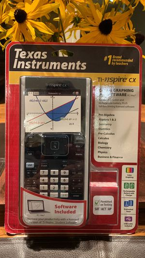 Texas Instruments TI-Nspire CX for Sale in Issaquah, WA