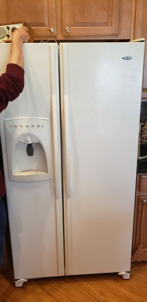 GE electric range and refrigerator side by side for Sale in Silver Spring, MD