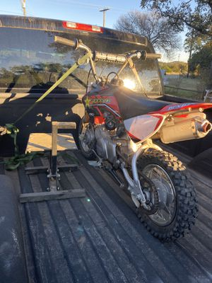 Honda crf 50 lots of upgrades pit bike for Sale in Helotes, TX