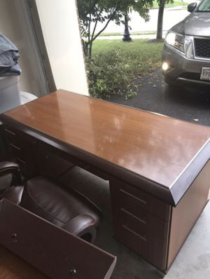 Office table with drawers for Sale in Chantilly, VA
