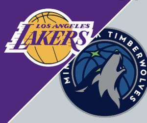 LA Lakers vs. Minnesota Timberwolves- Tickets for Sunday, 12/8 @ 6:30pm for Sale in Long Beach, CA