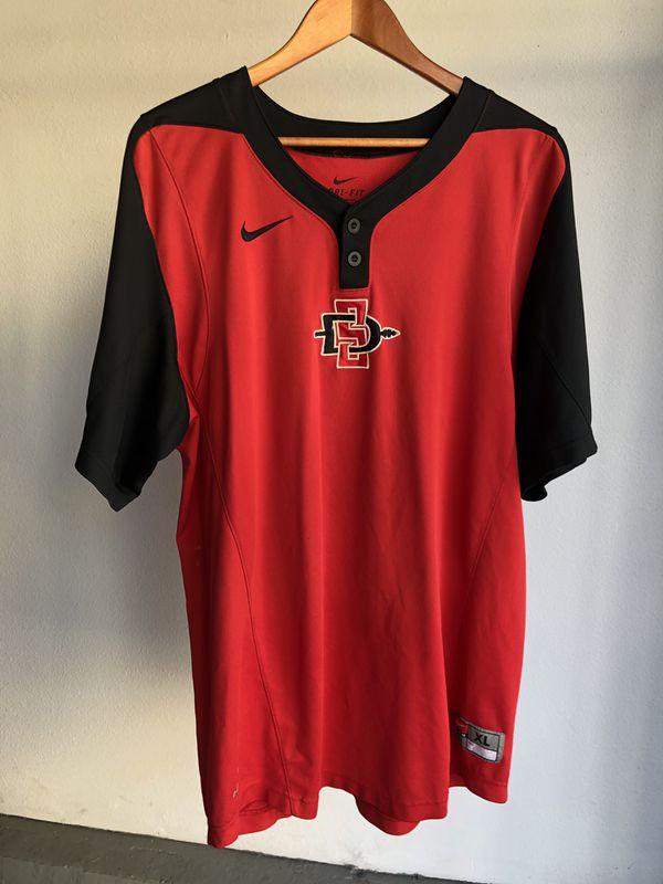 San Diego State University SDSU baseball batting practice jersey XL