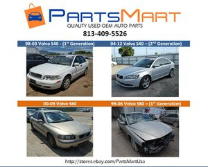 Volvo S40 S60 S80 USED OEM AUTO PARTS FOR SALE for Sale in Tampa, FL
