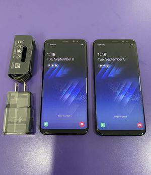 Samsung galaxy s8 unlocked $200 each for Sale in Cambridge, MA