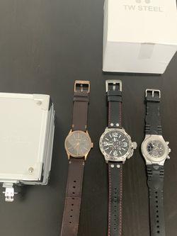 Men Watches (TW Steel, Nixon, Technomarine) No Batteries Included for Sale in Hialeah,  FL
