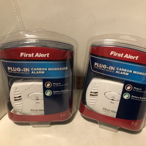 First alert carbon Monoxide Detector for Sale in Sacramento, CA