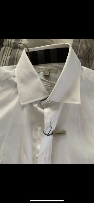 Burberry button-up for Sale in Cleveland, OH