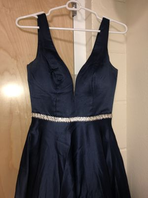 Navy Blue Prom Dress for Sale in Tampa, FL