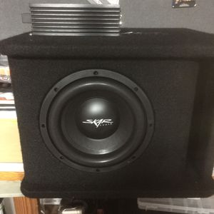 Scar Audio 8 Inch Sub With 350watt Amp for Sale in Rock Hill, SC