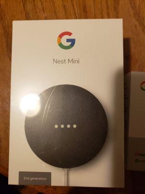 Google nest mini and google chromecast for Sale in Tarentum, PA