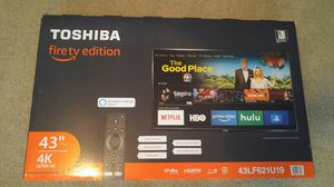 Toshiba 43in. Smart 4K TV for Sale in Central Point, OR