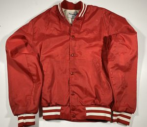 Swingster jacket small red Vintage Snaps (No Logos, Clean Jacket, Great Cond.) for Sale in Cabot, AR