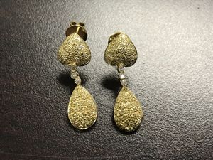 Yellow diamond earrings for Sale in New York, NY