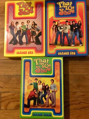 That 70's Show--3 boxsets!! for Sale in Taunton, MA